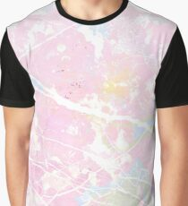Pastel Candy Pollock Marble Graphic T-Shirt