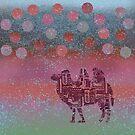 Kamel auf dem Mond von Marianna Tankelevich