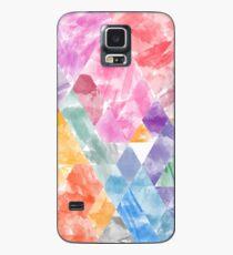 Waterpaint Triangels Case/Skin for Samsung Galaxy