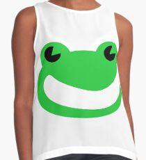 Smug Frog  Contrast Tank