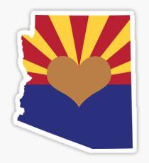 Arizona State Love Sticker