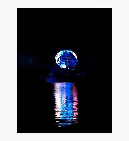 Glowing World Photographic Print