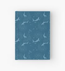 Sharks and fishes Hardcover Journal