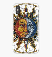 Celestial Mosaic Sun and Moon COASTER iPhone Case/Skin