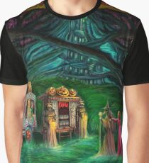 Princess Pumpkin goes to a party Graphic T-Shirt