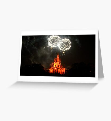Fireworks Fantasy Greeting Card