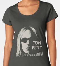Tom Petty - Silhouette Women's Premium T-Shirt