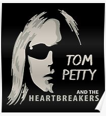 Tom Petty - Silhouette Poster