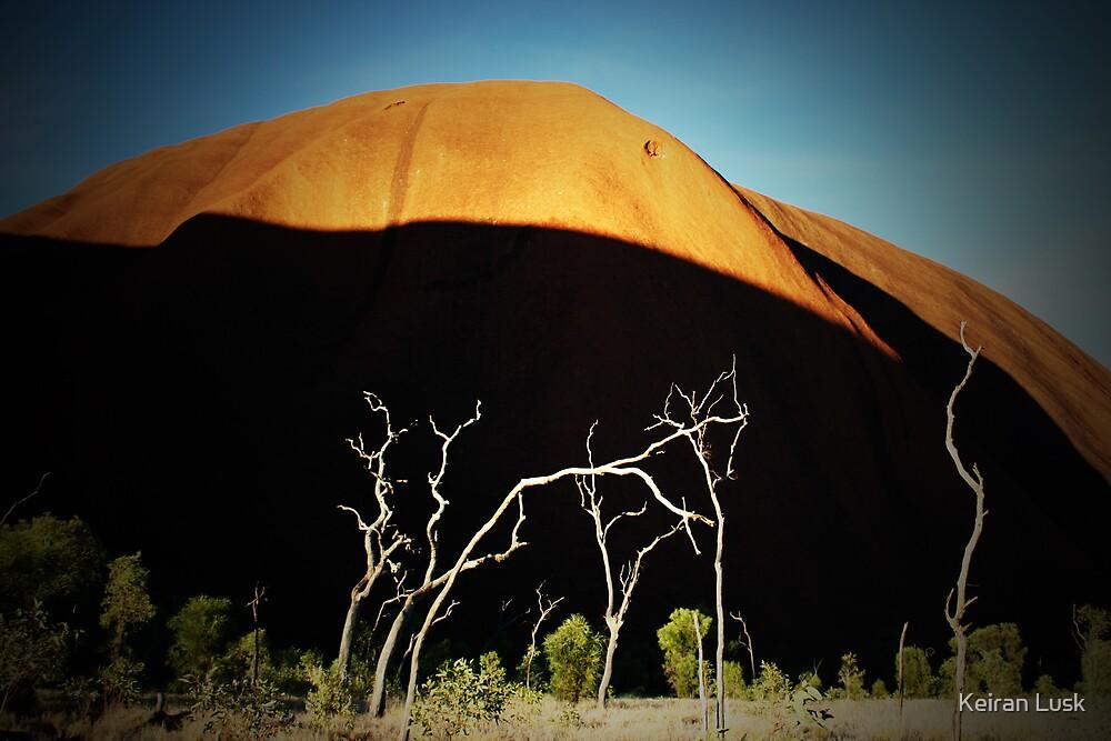 Kuniya Walk, Uluru. by Keiran Lusk