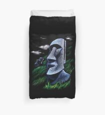 Easter Island Duvet Cover