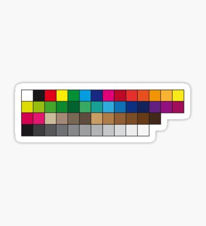 BasiCMYK Sticker