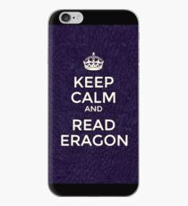 Keep calm and read Eragon - cover  iPhone Case