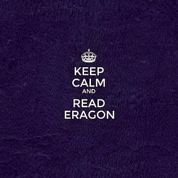 Keep calm and read Eragon - cover  by SnfDesign