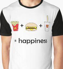 Mcdonald's = Happiness Graphic T-Shirt