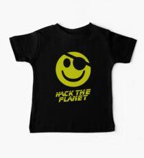 Camiseta para bebés Hack the Planet !!!