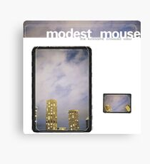 Modest Mouse - The Lonesome Crowded West Canvas Print