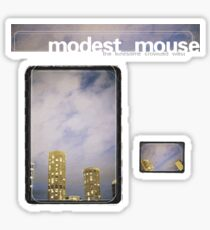 Modest Mouse - The Lonesome Crowded West Sticker