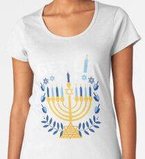 Get Lit Hanukkah  Women's Premium T-Shirt