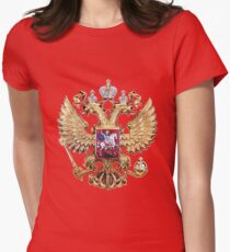 Russian Coat Of Arms Women's Fitted T-Shirt