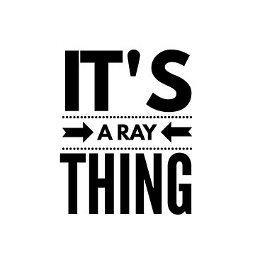It's a Ray Thing by conchcreations