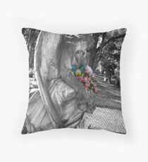 Flowers of Colour Throw Pillow