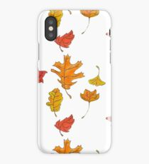 Fall in Love with Foliage iPhone Case/Skin