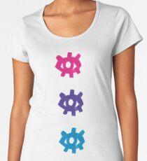 Eyestack Triad Ethereal Premium Scoop T-Shirt