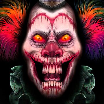 Evil Apocalyptic Clown  by -monkey-