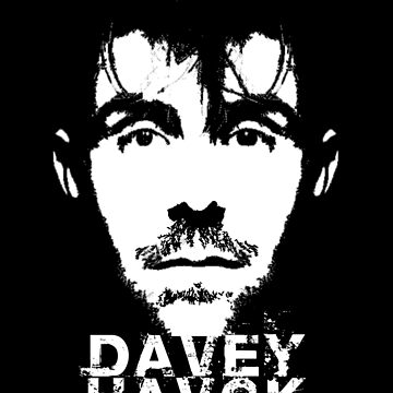 Davey Havok - face tee by chromedesign