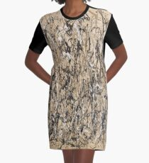 Autumn Rhythm (Number 30) by Jackson Pollock Graphic T-Shirt Dress
