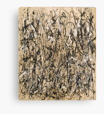 Autumn Rhythm (Number 30) by Jackson Pollock Canvas Print