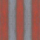 Grey and orange stripes, wide stripe, striped pattern by clipsocallipso