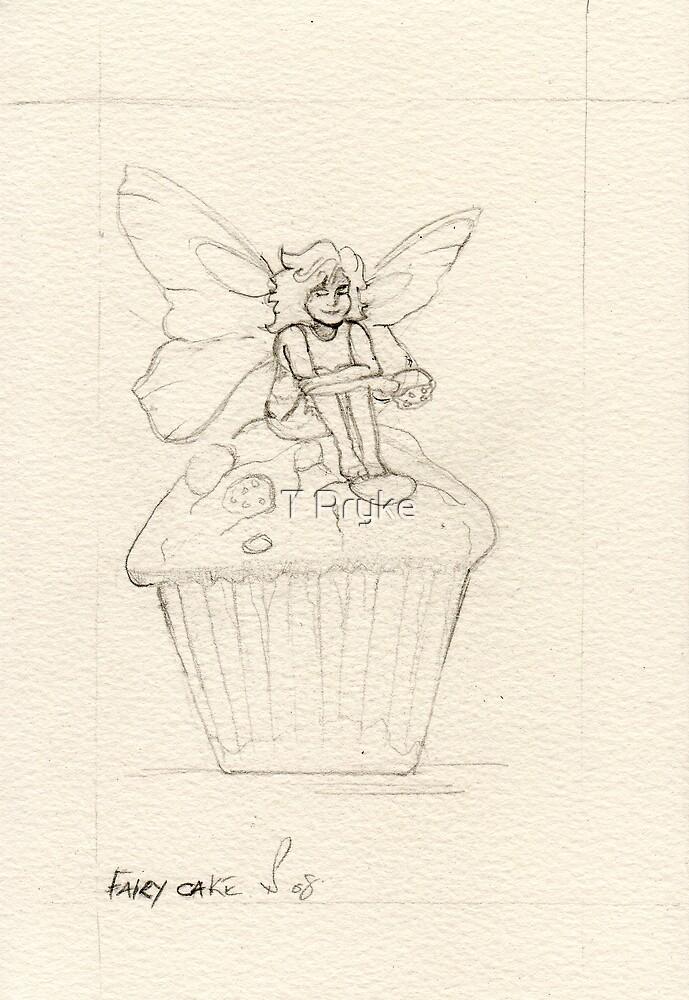 Fairy cake  by T Pryke