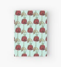 surrounded by flowers Hardcover Journal