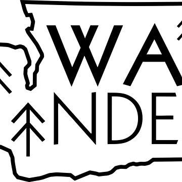 Wander Washington (Black Outline) by MeInTheMirror