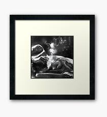 Can't Sleep Framed Print