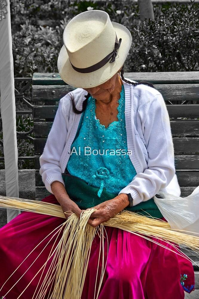 Straw Weaving Is A Dying Art by Al Bourassa