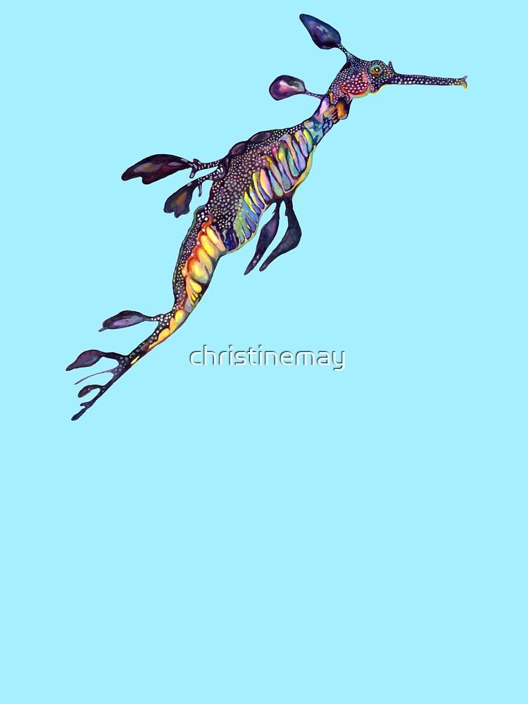 Purple Sea Dragon by christinemay
