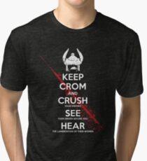 KEEP CROM Tri-blend T-Shirt