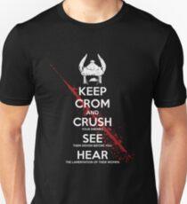 Halten Sie CROM Unisex T-Shirt