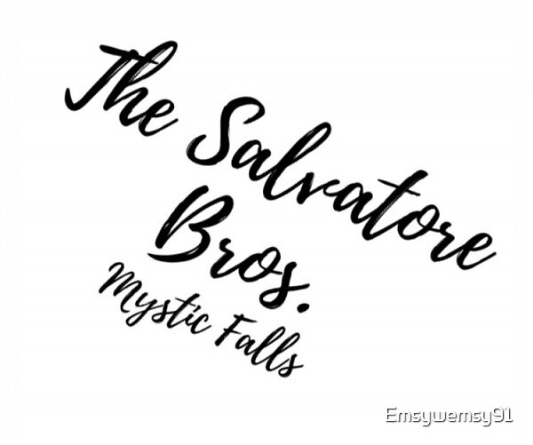 Salvatore Bros. (The Vampire Diaries) by Emsywemsy91