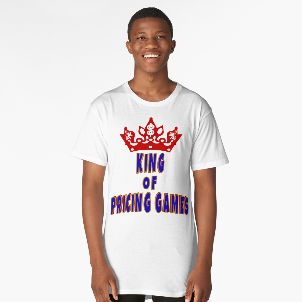 TV Game Show - TPIR (The Price Is...)King Of Pricing Games Long T-Shirt Front