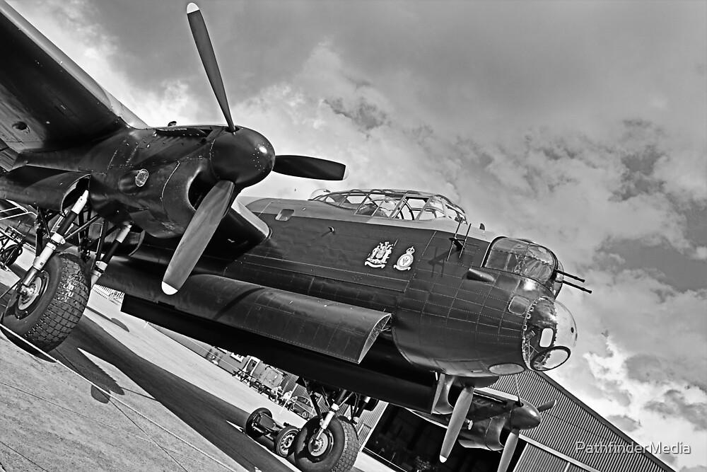 Avro Lancaster Just Jane - Heavy Metal Detail by PathfinderMedia
