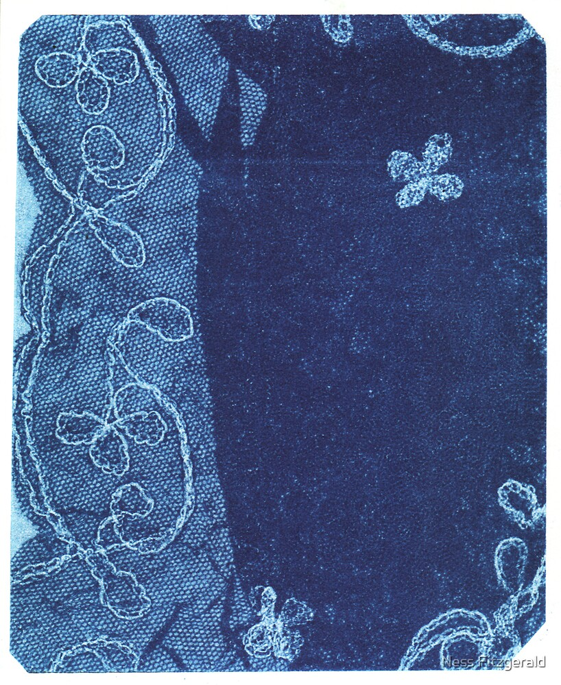 blue lace #2 by Ness Fitzgerald