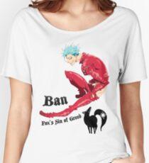 Nanatsu no Taizai Ban Women's Relaxed Fit T-Shirt