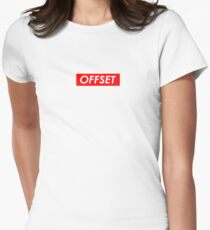 OFFSET Womenu0027s Fitted T-Shirt