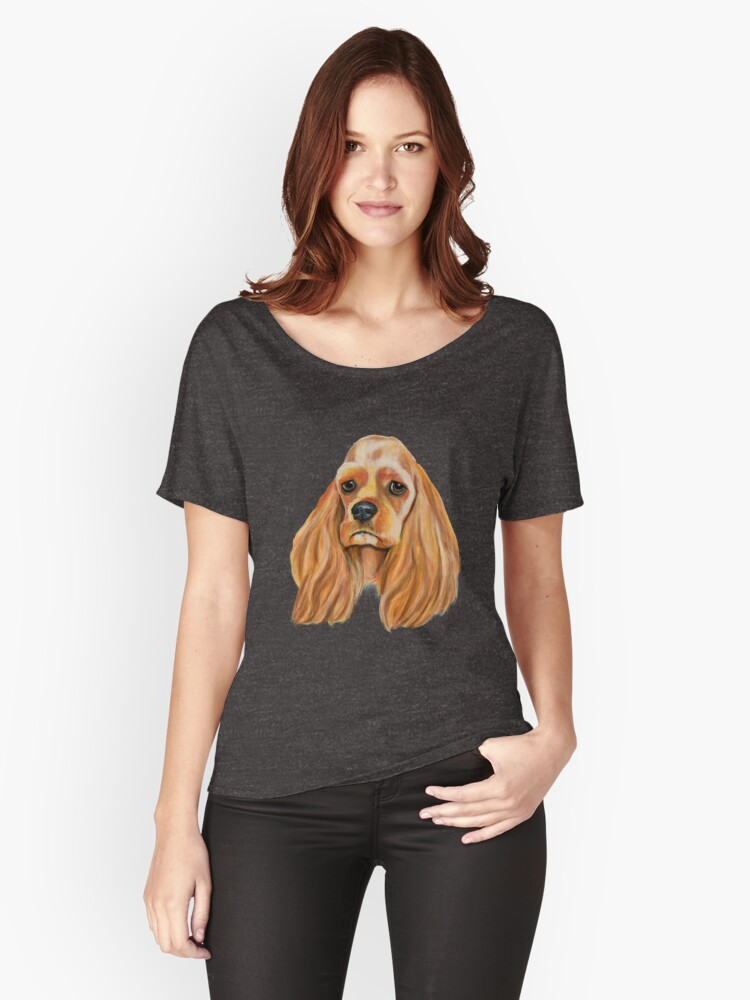 Cocker Spaniel A Beloved Companion Women's Relaxed Fit T-Shirt Front