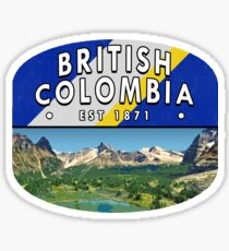 British Colombia Sticker