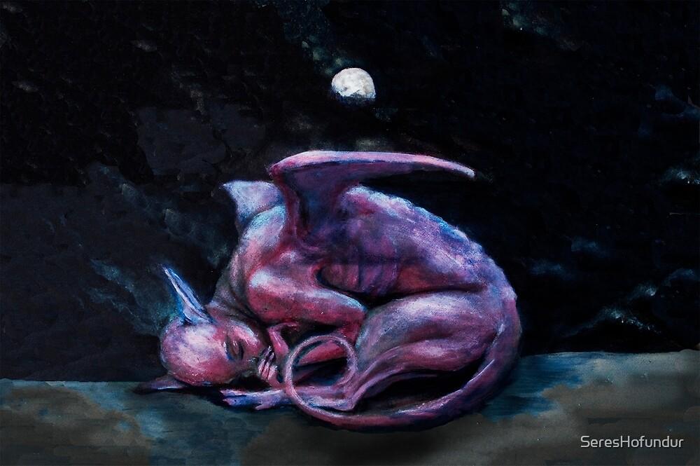 Baby Sphinx  by SeresHofundur