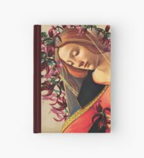 She Wore a Crown of Amaryllis Hardcover Journal